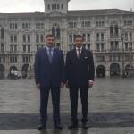 S.E. Sergey Nurtayev e Luca Bellinello - Trieste 14/10/16